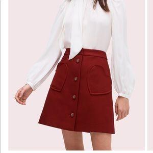 Spade pocket skirt ♠️